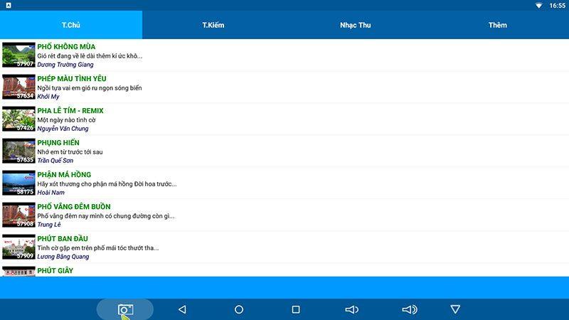 top các ứng dụng hát karaoke hay nhất dành cho android tv box - hình 03