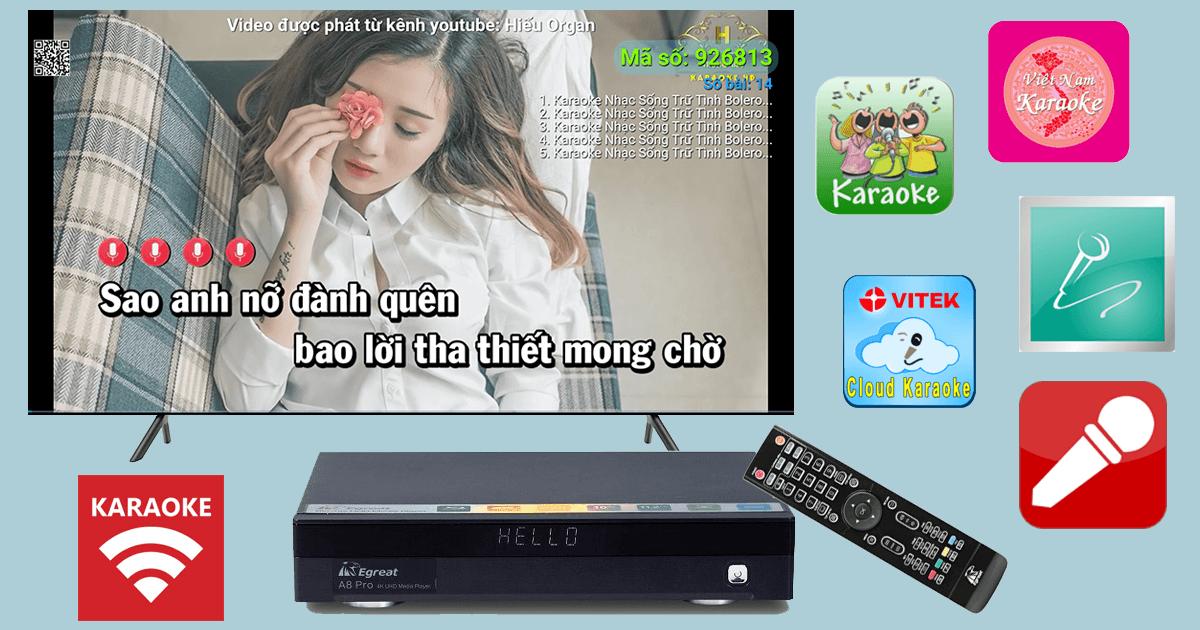 top các ứng dụng hát karaoke hay nhất dành cho android tv box
