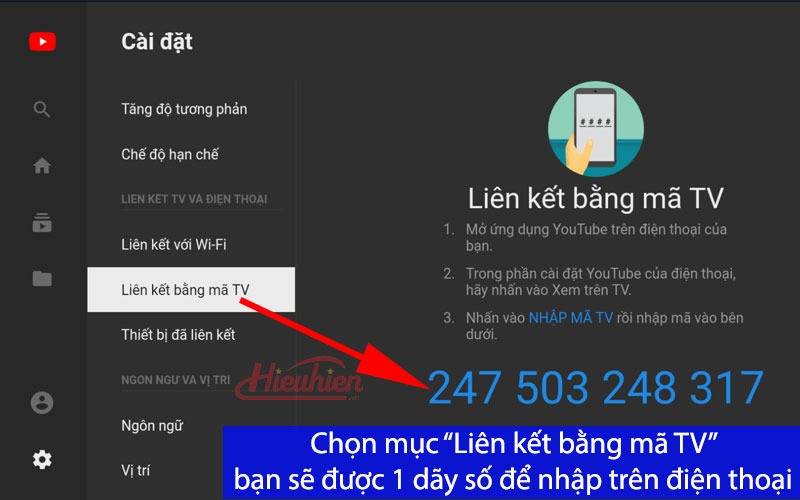Chia sẻ ứng dụng điều khiển Youtube trên Android TV Box bằng điện