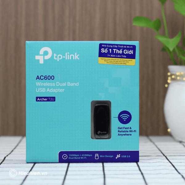 usb thu sóng wifi tp-link archer t2u hỗ trợ bắt sóng wifi băng tần kép - hình 02