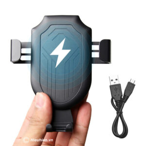 SG01 - Sạc dự phòng không dây kiêm giá đỡ điện thoại dành cho xe ôtô