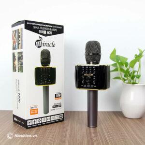 miracle m70 - micro karaoke bluetooth hàn quốc, hát cực hay - hình 01