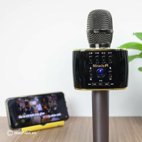 miracle m70 - micro karaoke bluetooth hàn quốc, hát cực hay - hình 02