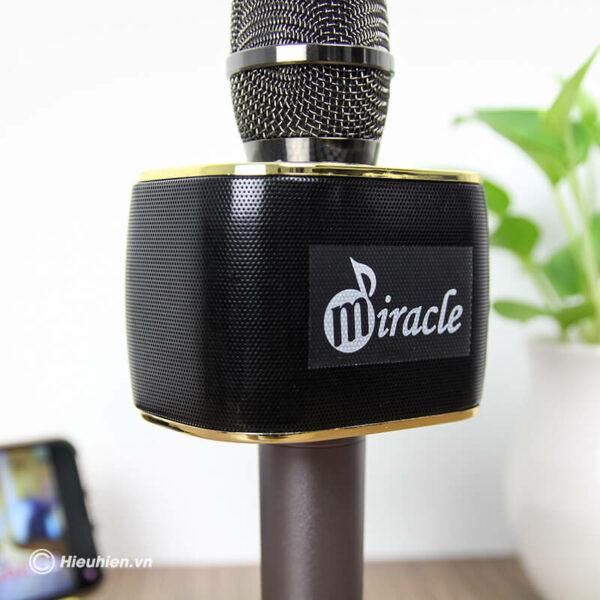 miracle m70 - micro karaoke bluetooth hàn quốc, hát cực hay - hình 04