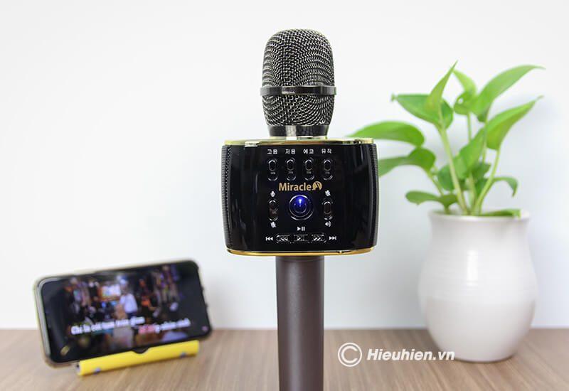 miracle m70 - micro karaoke bluetooth hàn quốc, hát cực hay - hình 14