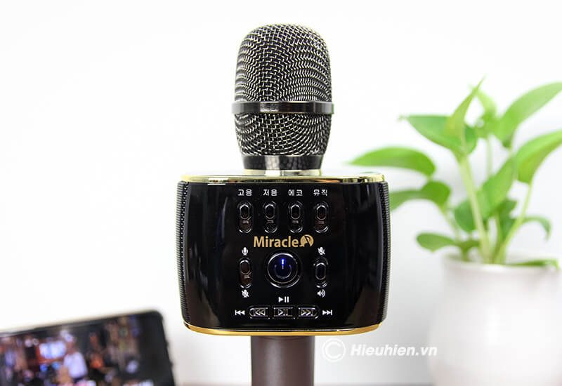 miracle m70 - micro karaoke bluetooth hàn quốc, hát cực hay - hình 15