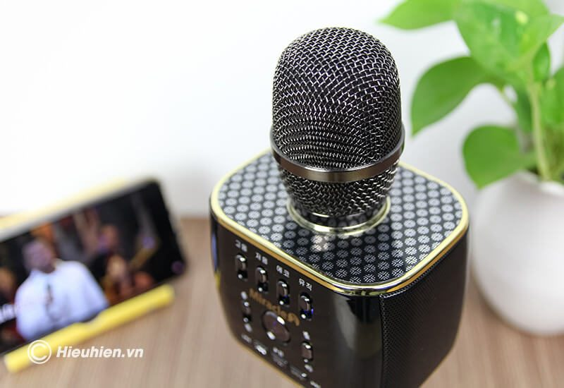 miracle m70 - micro karaoke bluetooth hàn quốc, hát cực hay - hình 16