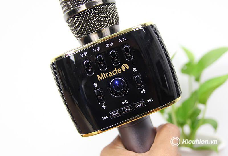 miracle m70 - micro karaoke bluetooth hàn quốc, hát cực hay - hình 19