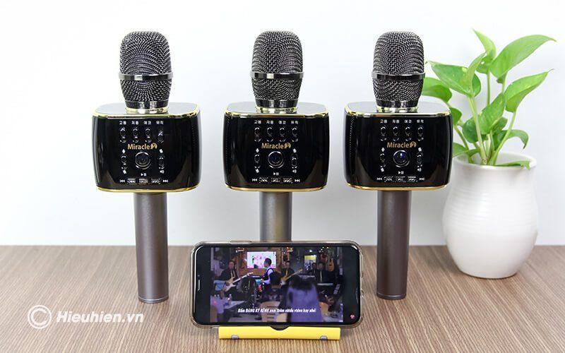 miracle m70 - micro karaoke bluetooth hàn quốc, hát cực hay - hình 20