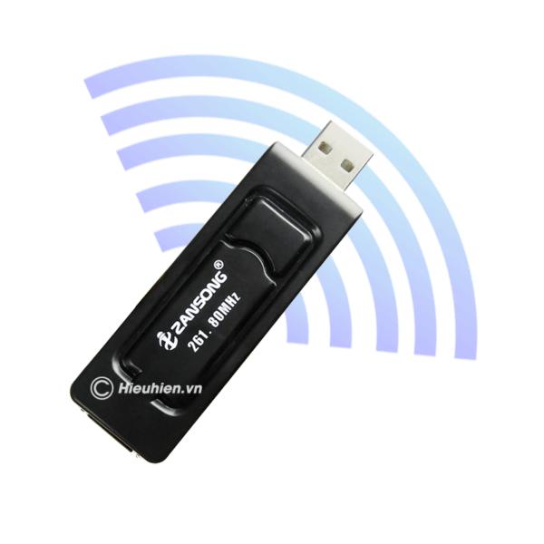 zansong v10 tu micro không dây dùng cho loa karaoke xách tay, loa kéo - hình 01