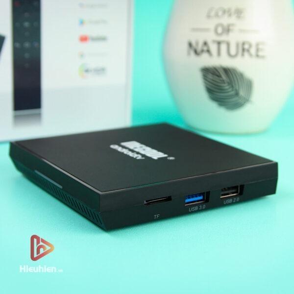 mecool km9 pro classic ram 2gb, rom 16gb, android tv 9, chip s905x2 - hình 02