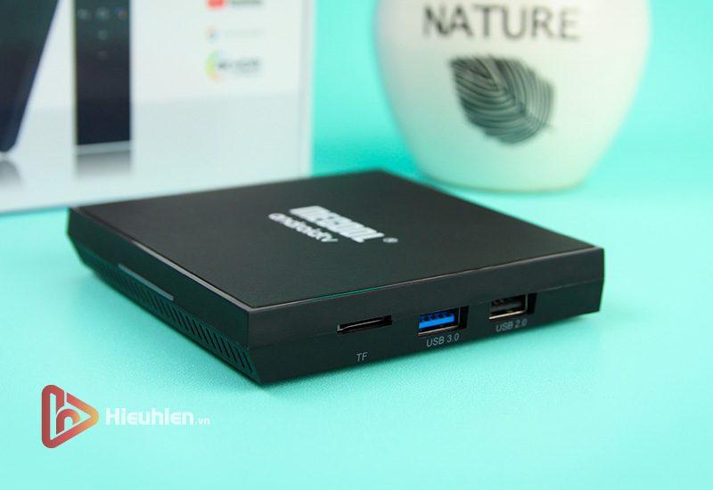 mecool km9 pro classic ram 2gb, rom 16gb, android tv 9, chip s905x2 - hình 09