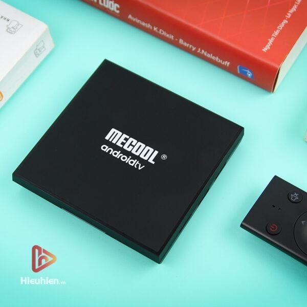 mecool km9 pro classic ram 2gb, rom 16gb, android tv 9, chip s905x2