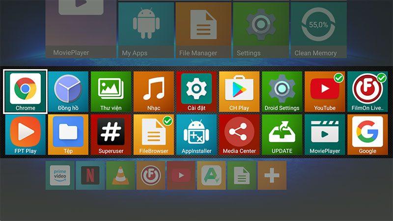 hk1 play 2gb/16gb android 9.0 tv box 4k, chip xử lý s905x2 - hình 16