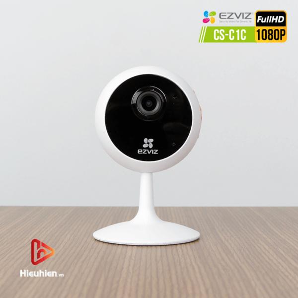 camera ip wifi quan sát cố định trong nhà ezviz cs-c1c độ phân giải 2mp, hình ảnh full hd1080p