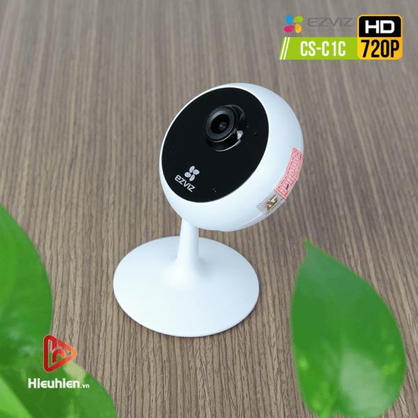 camera ip wifi quan sát cố định trong nhà ezviz cs-c1c độ phân giải 1mp, hình ảnh hd720p - hình 01