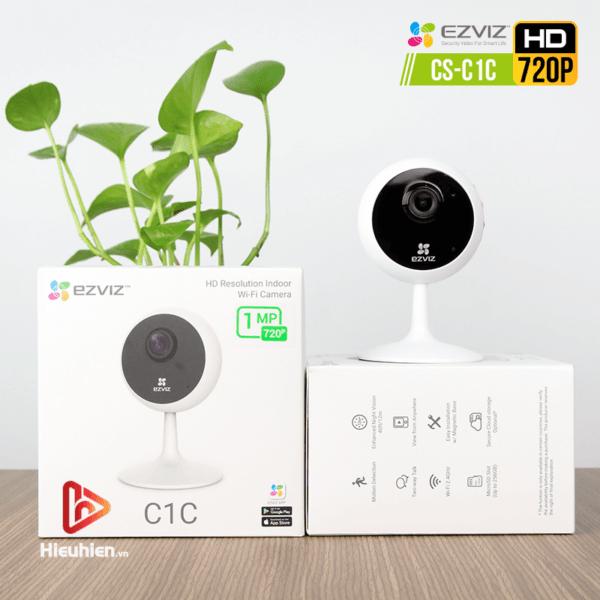camera ip wifi quan sát cố định trong nhà ezviz cs-c1c độ phân giải 1mp, hình ảnh hd720p - hình 05