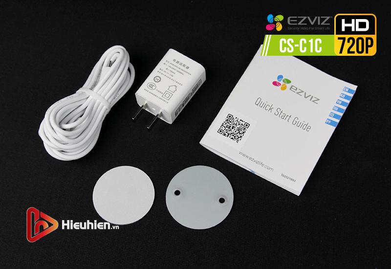 camera ip wifi quan sát cố định trong nhà ezviz cs-c1c độ phân giải 1mp, hình ảnh hd720p - hình 15