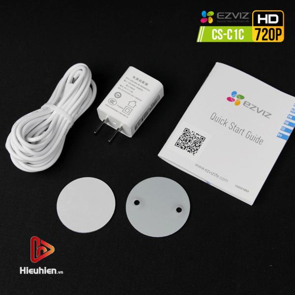 camera ip wifi quan sát cố định trong nhà ezviz cs-c1c độ phân giải 1mp, hình ảnh hd720p - hình 16