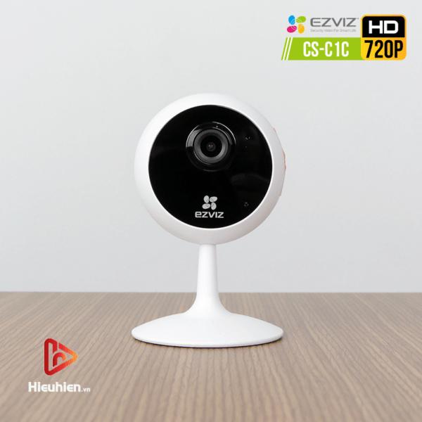 camera ip wifi quan sát cố định trong nhà ezviz cs-c1c độ phân giải 1mp, hình ảnh hd720p