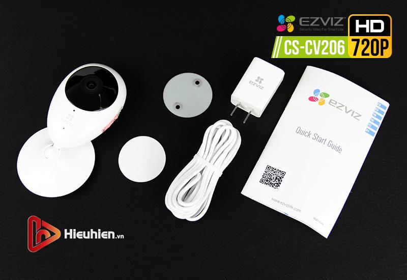 ezviz-cs-cv206-hd720p camera ip wifi quan sát cố định trong nhà - hình 14
