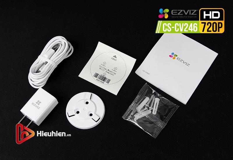 ezviz cs-cv246 camera quan sát trong nhà độ phân giải hd 720p, tự động xoay khi phát hiện chuyển động - hình 15