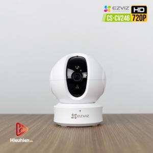 ezviz cs-cv246 camera quan sát trong nhà độ phân giải hd 720p, tự động xoay khi phát hiện chuyển động