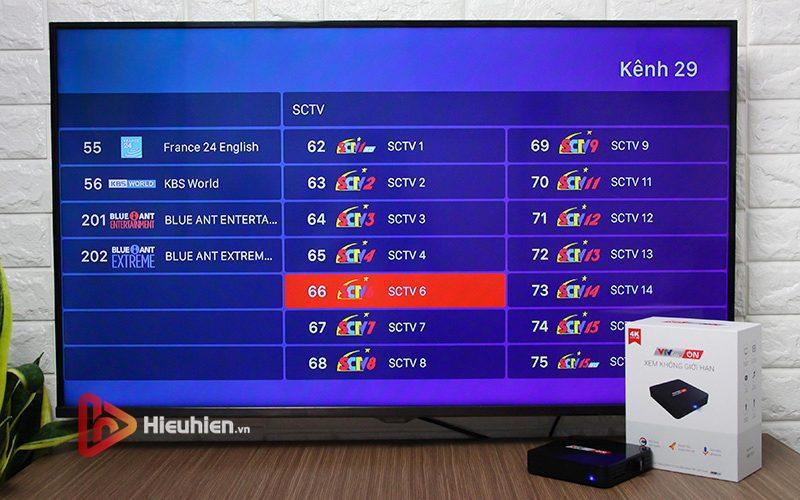 hộp truyền hình android tv box vtvcab on xem truyền hình trực tuyến với kho nội dung bản quyền - hình 28