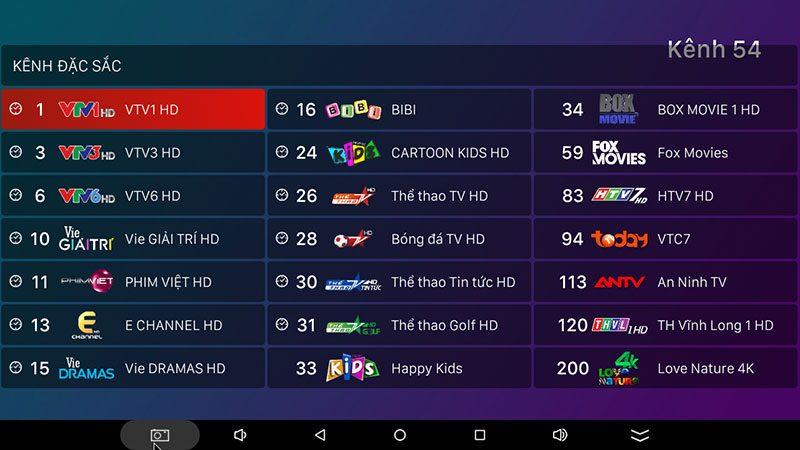 hộp truyền hình android tv box vtvcab on xem truyền hình trực tuyến với kho nội dung bản quyền - hình 29
