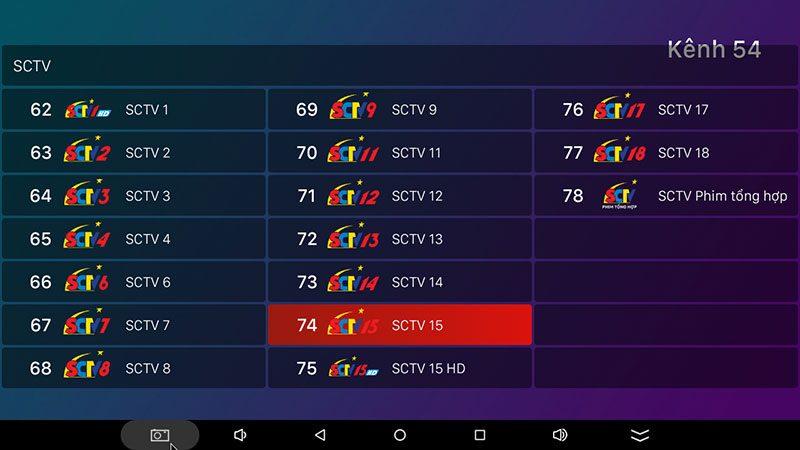 hộp truyền hình android tv box vtvcab on xem truyền hình trực tuyến với kho nội dung bản quyền - hình 30