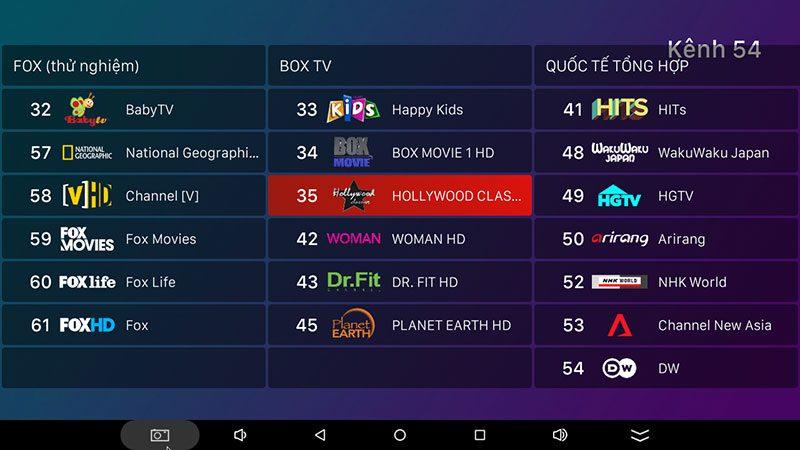 hộp truyền hình android tv box vtvcab on xem truyền hình trực tuyến với kho nội dung bản quyền - hình 32