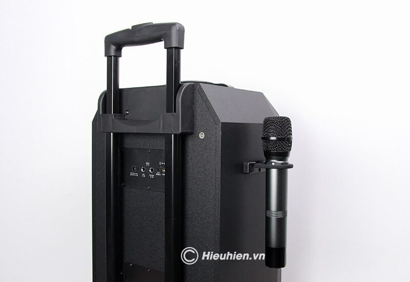 loa kéo hát karaoke di động w-king k5 công suất 160w, tặng kèm 2 micro không dây - hình 17