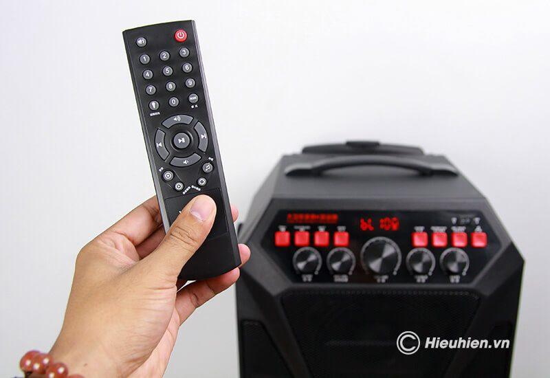 loa kéo hát karaoke di động w-king k5 công suất 160w, tặng kèm 2 micro không dây - hình 20