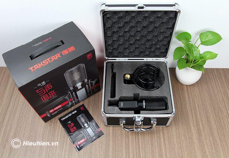 micro thu âm chất lượng cao takstar pc-k850 - hình 11
