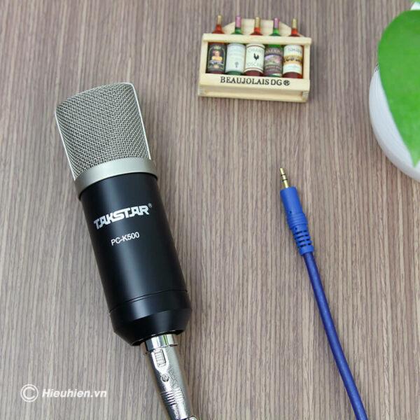 micro thu âm cao cấp takstar pc-k500 - hình 02