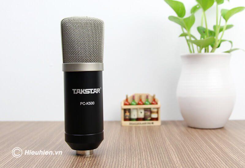 micro thu âm cao cấp takstar pc-k500 - hình 06