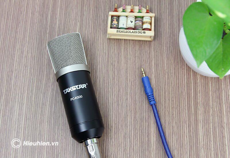 micro thu âm cao cấp takstar pc-k500 - hình 10