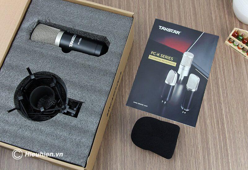 micro thu âm cao cấp takstar pc-k500 - hình 11
