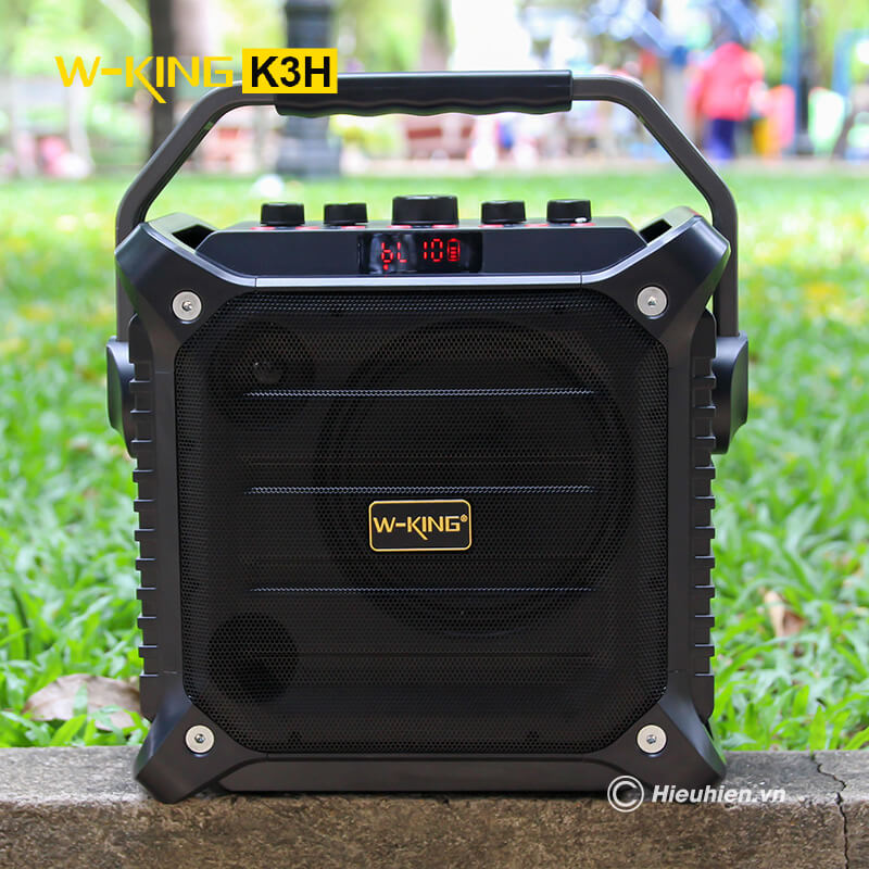 w-king k3h - loa hát karaoke xách tay công suất lớn 100w - hình 01