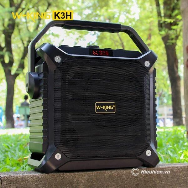 w-king k3h - loa hát karaoke xách tay công suất lớn 100w - hình 02