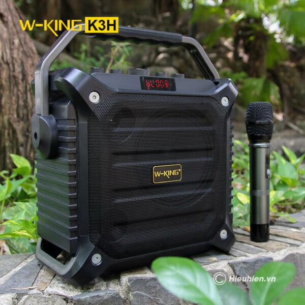 w-king k3h - loa hát karaoke xách tay công suất lớn 100w - hình 03