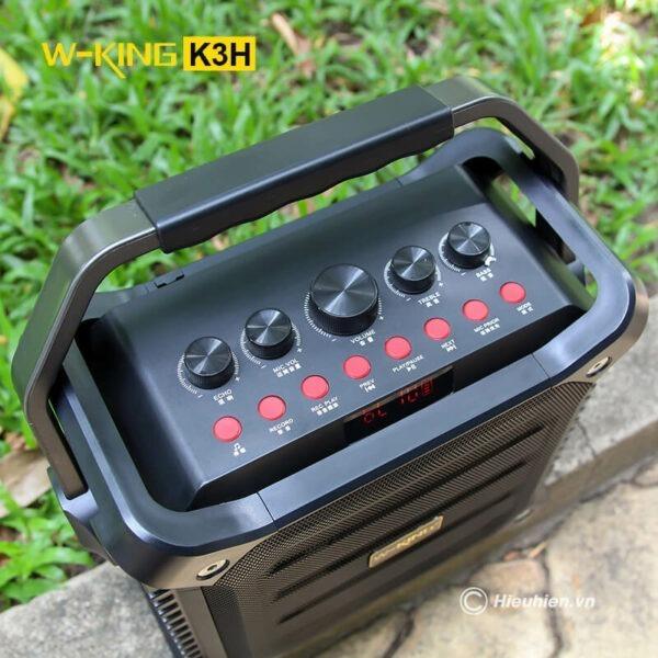 w-king k3h - loa hát karaoke xách tay công suất lớn 100w - hình 04