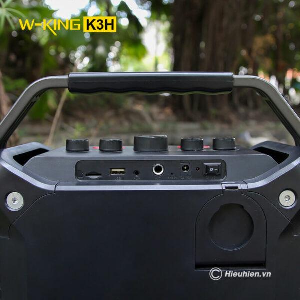 w-king k3h - loa hát karaoke xách tay công suất lớn 100w - hình 05
