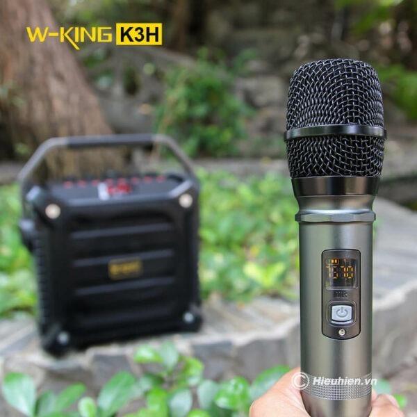w-king k3h - loa hát karaoke xách tay công suất lớn 100w - hình 06