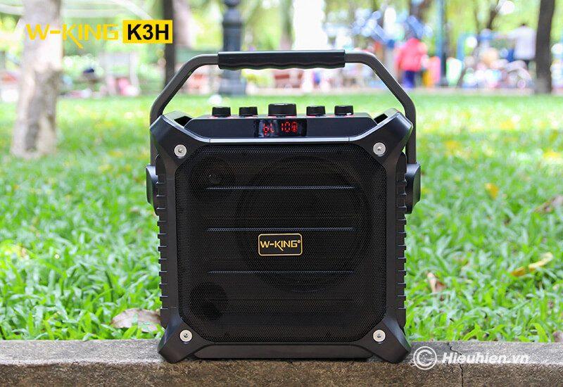 w-king k3h - loa hát karaoke xách tay công suất lớn 100w - hình 07