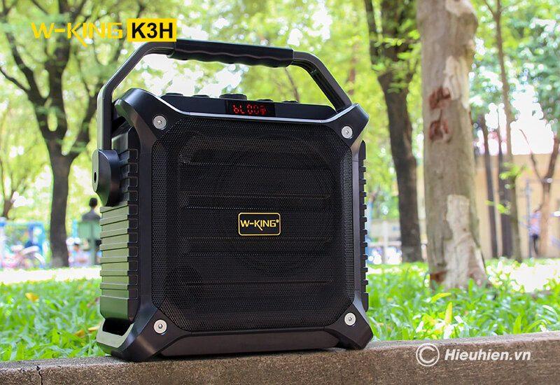 w-king k3h - loa hát karaoke xách tay công suất lớn 100w - hình 088