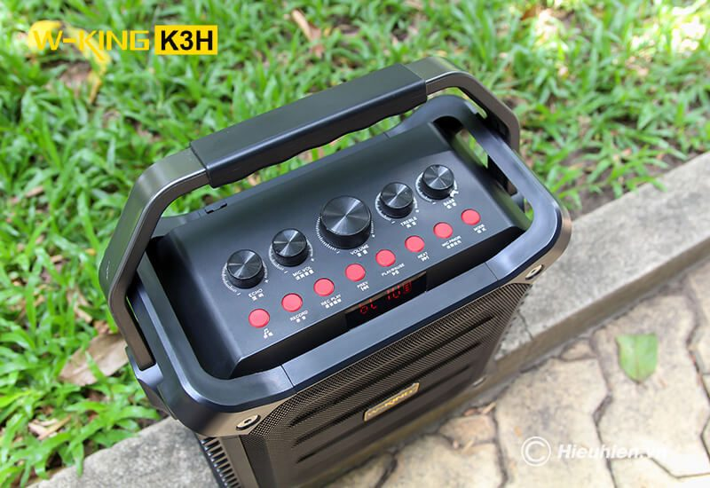w-king k3h - loa hát karaoke xách tay công suất lớn 100w - hình 09