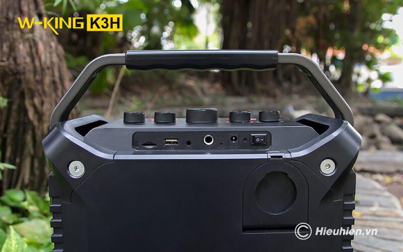 w-king k3h - loa hát karaoke xách tay công suất lớn 100w - hình 10