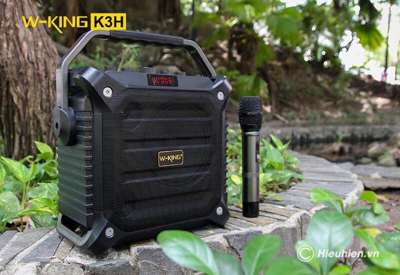 w-king k3h - loa hát karaoke xách tay công suất lớn 100w - hình 12
