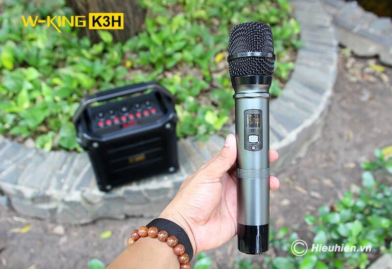 w-king k3h - loa hát karaoke xách tay công suất lớn 100w - hình 13